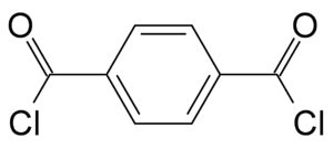 Terephthaloyl chloride - Image: Terephthaloylchlorid e