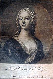 Teresia Constantia Phillips English courtesan and memoirist