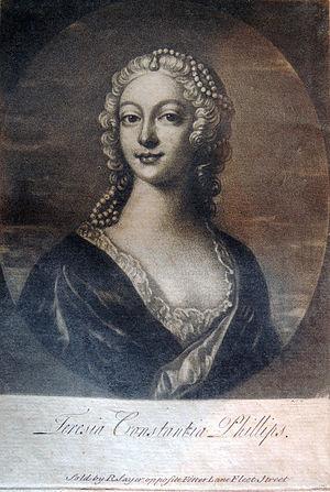Teresia Constantia Phillips - Image: Teresia Constantia Phillips portrait