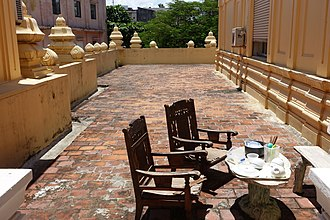Museum of Cham Sculpture - Image: Terrace Museum of Cham Sculpture Danang, Vietnam DSC01987
