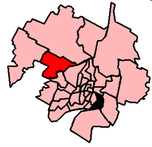 Terrebonne—Blainville - 2003 boundaries