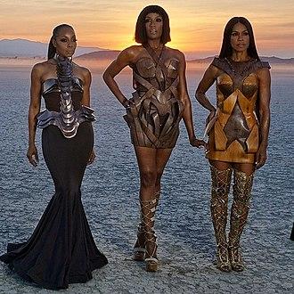 En Vogue - En Vogue in 2018: (L-R) Terry Ellis, Rhona Bennett and Cindy Herron