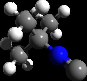 Tert-Butyl isocyanide - Image: Tert Butyl isocyanide 3d structure