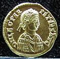 Tesoretto di sovana 102 solido di leone I (457), zecca di milano.JPG