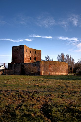 Sassenheim - The ruins of Castle Teylingen