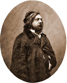Théophile Gautier photographed by Nadar