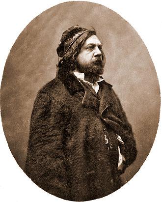 Théophile Gautier - Théophile Gautier photographed by Nadar