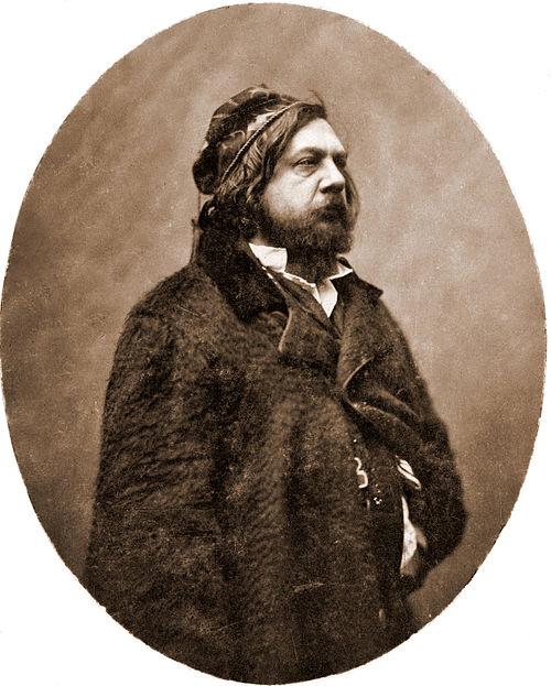 Théophile gautier by nadar c1856 1