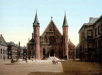 Binnenhof - The Ridderzaal in 1900