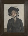 The Artist's Wife, Eva (Ivar Arosenius) - Nationalmuseum - 23284.tif