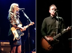 Aimee Mann - The Both in Philadelphia in May 2014