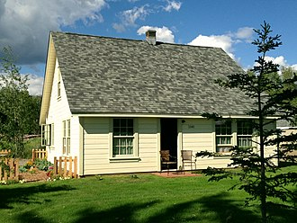 National Register of Historic Places listings in Matanuska-Susitna Borough, Alaska - Image: The Campbell House