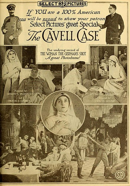 The Cavell Case (1919), an American film The Cavell Case.jpg