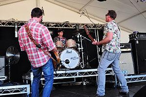 The Chevelles - Image: The Chevelles @ Sir Stewart Bovell Park (3 1 2011) (5358525547)