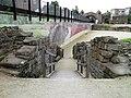 The East entrance of the Roman amphitheatre known as portae posticae, Deva Victrix (Chester, UK) (8391132063).jpg