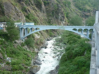 Kodari - Image: The Friendship Bridge connecting China with Nepal