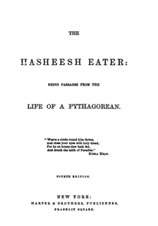 <i>The Hasheesh Eater</i> book by Fitz Hugh Ludlow