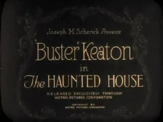 파일:The Haunted House (1921).webm