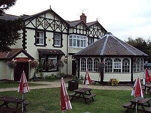 Hooton, Cheshire - Image: The Hooton pub 2