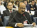 The Minister of State (Independent Charge) for Consumer Affairs, Food and Public Distribution, Professor K.V. Thomas addressing the 40th session of the Food and Agriculture Organization (FAO), at Rome on October 08, 2013.jpg