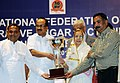 The Minister of State (Independent Charge) for Consumer Affairs, Food and Public Distribution, Professor K.V. Thomas presenting the Efficiency Award (2).jpg
