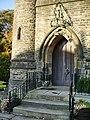 The Parish Church of St Bartholomew, Ripponden, Doorway - geograph.org.uk - 1129429.jpg