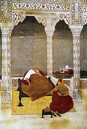 Abanindranath Tagore - Image: The Passing of Shah Jahan