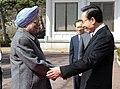 The Prime Minister, Dr. Manmohan Singh meeting the South Korean President, Mr. Lee Myung-bak, in Seoul on March 25, 2012.jpg