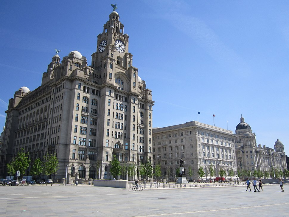 The Three Graces, Liverpool - 2012-05-27