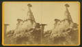 The Ute's Medicinal monument. (Locality - The Enchanted Parks, or monuments on Monument Creek.), by Duhem Brothers.png