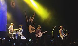 The Vamps beim Fanfest London (2015)