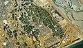 The aerial photo in 1975 near the Yoshida-cho Oigawa river area.jpg