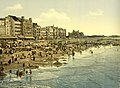 The beach at high water, Ostend, Belgium, ca. 1895 (3064721058).jpg