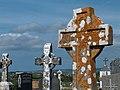 The churchyard at Killeinagh off the Cahersherkin road - geograph.org.uk - 1658000.jpg