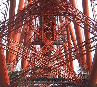 Forth Bridge - View of the structure