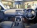 The interior of Jaguar XE 2.0 PRESTIGE.JPG