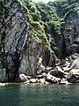 "The little waterfall at ""Sotomo"" - panoramio.jpg"