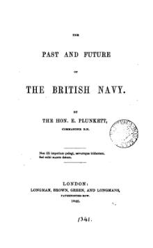 The past and future of the British navy.djvu