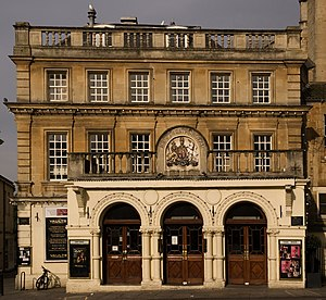 English: Theatre Royal, Bath. Français : Théât...