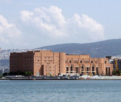 Thessaloniki Concert Hall sea