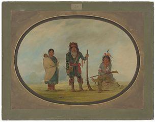 Three Micmac Indians