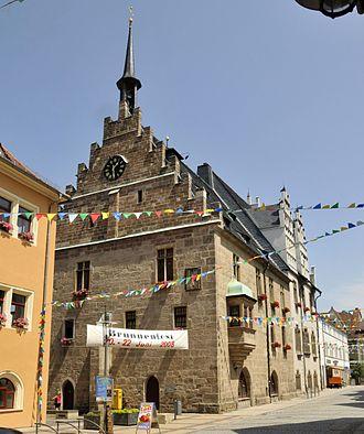 Neustadt an der Orla - Town hall