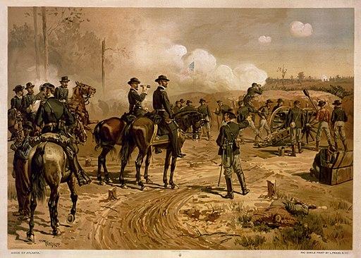 Thure de Thulstrup - Siege of Atlanta
