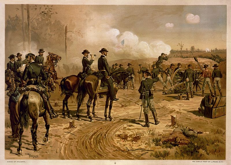 the contribution of william sherman in the american civil war Wishing to make south carolina howl for its role in starting the war, sherman's men advanced american civil war: civil war: general william t sherman.