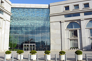 Thurgood Marshall Federal Judiciary Building - Front overview