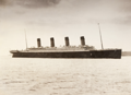 Titanic at her arrival in Queenstown.png