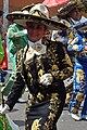 Tláhuac-Charra en el desfile del bicentenario.JPG