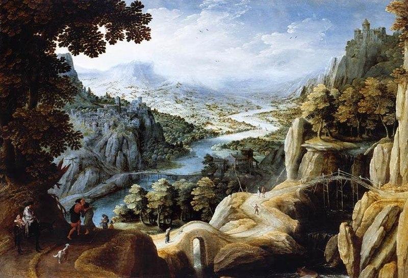 File:Tobias Verhaecht - Mountainous River Landscape - WGA24578.jpg