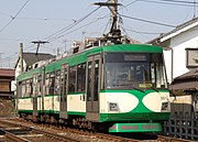 Tōkyū 300 series train on Setagaya Line