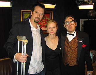 Tom Green - Green, Thora Birch, and Neil Hamburger at The Channel in 2006